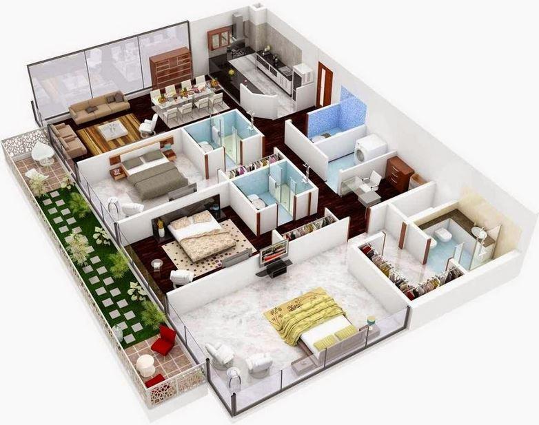 Planos f ciles para hacer casas en minecraft for Como hacer un plano de una cocina