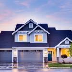Plano de casas 8×15 con local estilo americano elegante