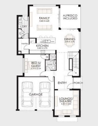 Dise os de casas en pdf de dos plantas for Planos de casas medianas