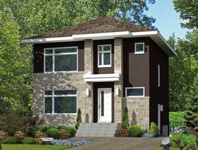 Plano de casas de dos plantas de 80mts for Planos de casas de dos pisos gratis