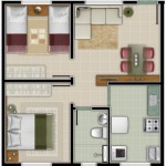 Planos de casa de 7 x 7