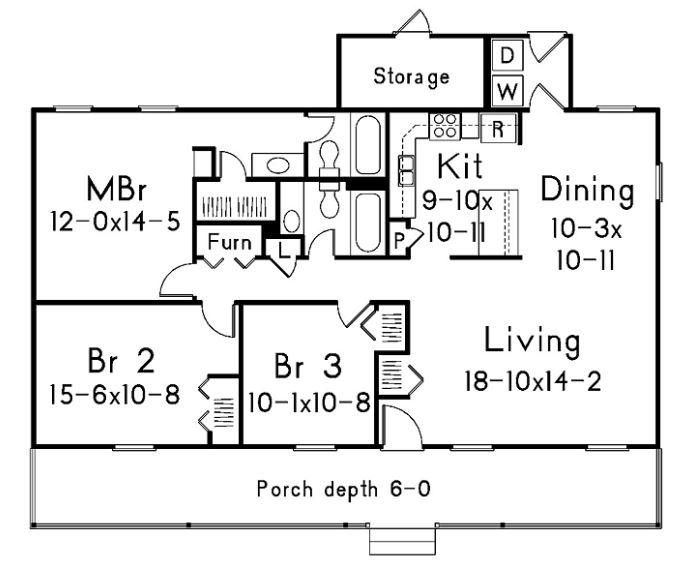 planos-de-casas-pequenas-con-pasillo-central