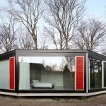 Fachadas de casas hexagono