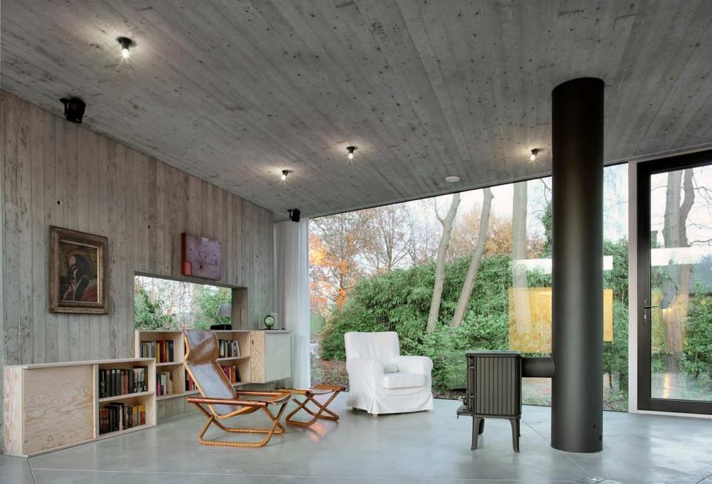 casa-hexagonal-de-un-piso