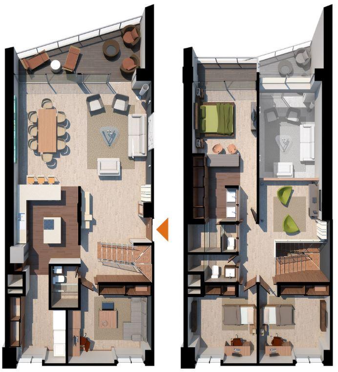 casas-rectangulares-de-dos-plantas
