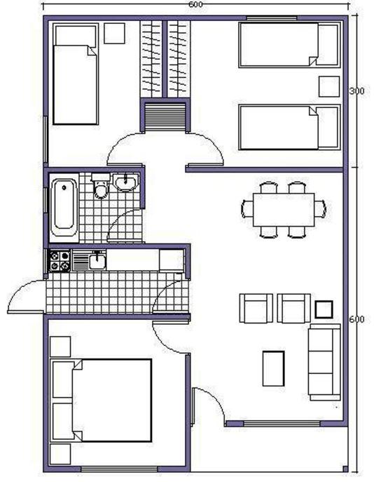 casas-prefabricadas-de-una-planta-3-habitaciones