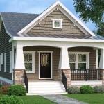 Planos para una casa con la medidas 7m por 12m