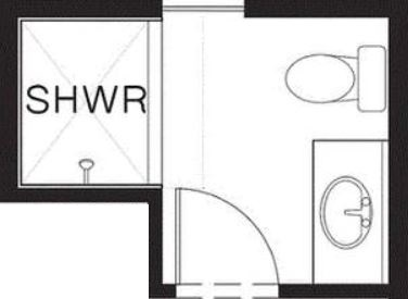 Planos de casas planos de casas con todo tipo de for Banos completos medidas