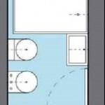 Cuanto debe medir un baño completo