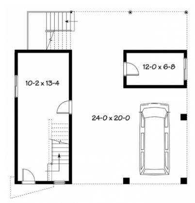 planos-de-casas-con-primer-nivel-como-estacionamiento