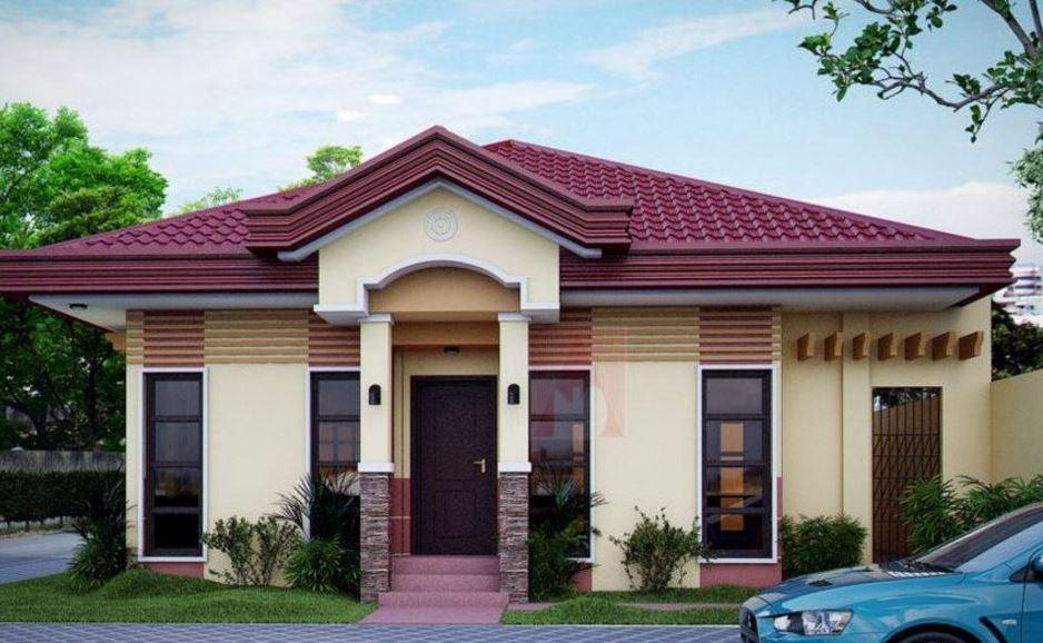 Dise o de fachada de frente for Constructoras de casas