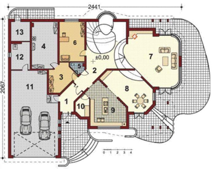 planos-de-casas-grandes-con-curvas