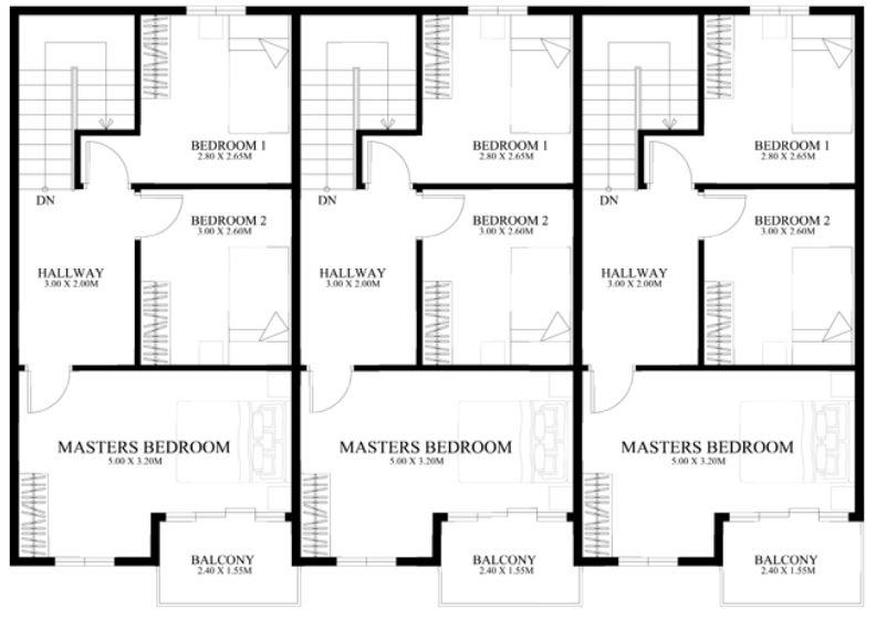 planos-de-townhouse-pequenos