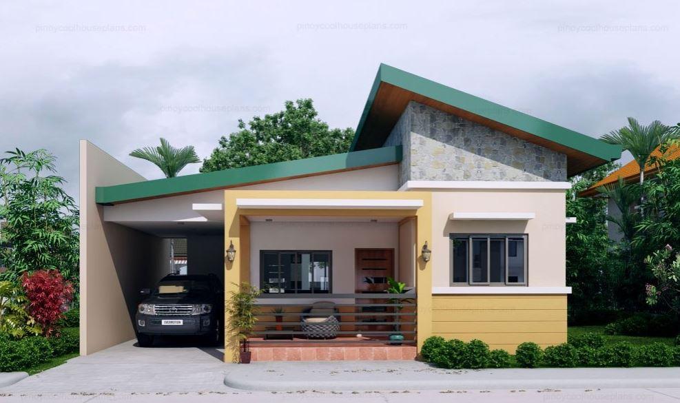 disenos-de-casas-de-una-planta-con-tres-dormitorios-economicas