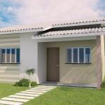 Ver fachadas de pequeñas casas brasilenas