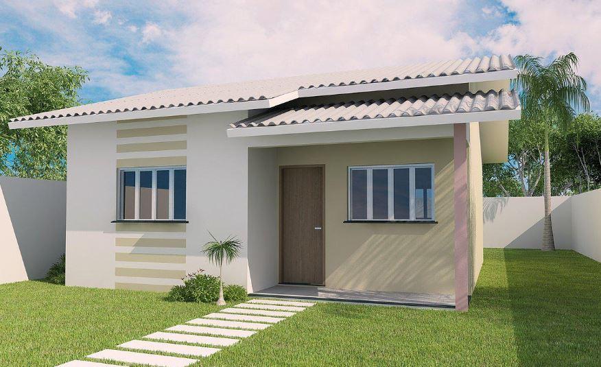 ver fachadas de peque as casas brasilenas