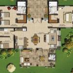 Planos de casas con walking closet