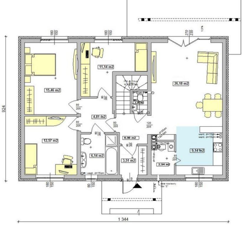 imagenes-de-planos-de-casas-modernas-con-buhardilla-y-techo-de-teja