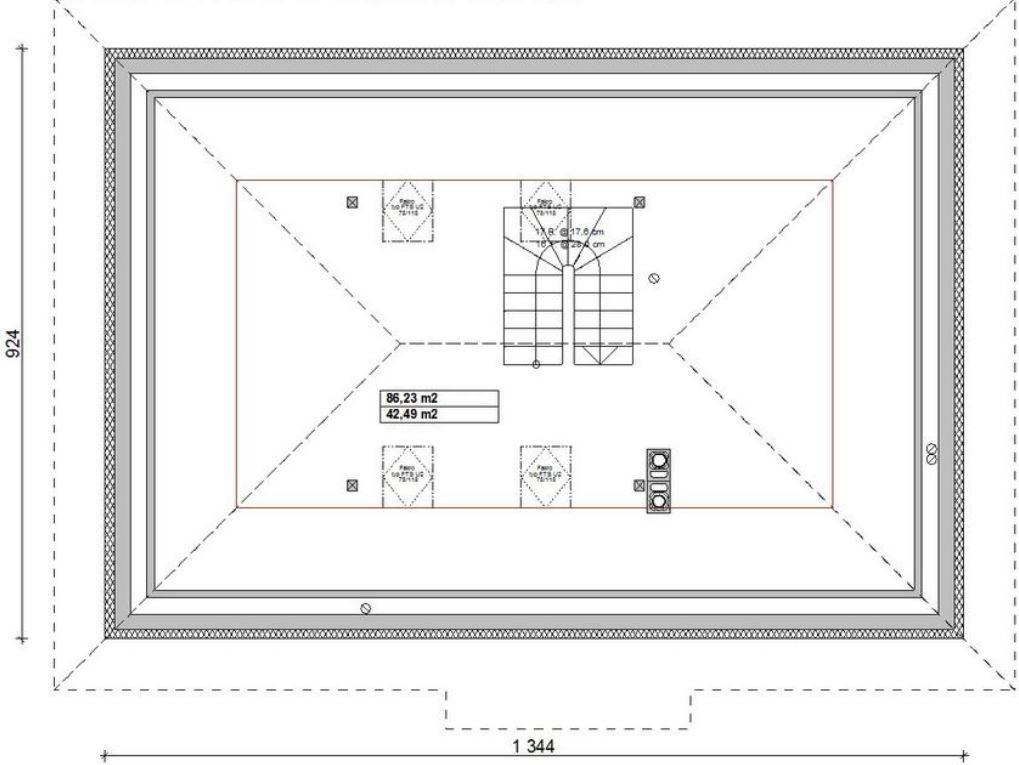 planos-de-casas-modernas-con-buhardilla-y-techo-de-teja