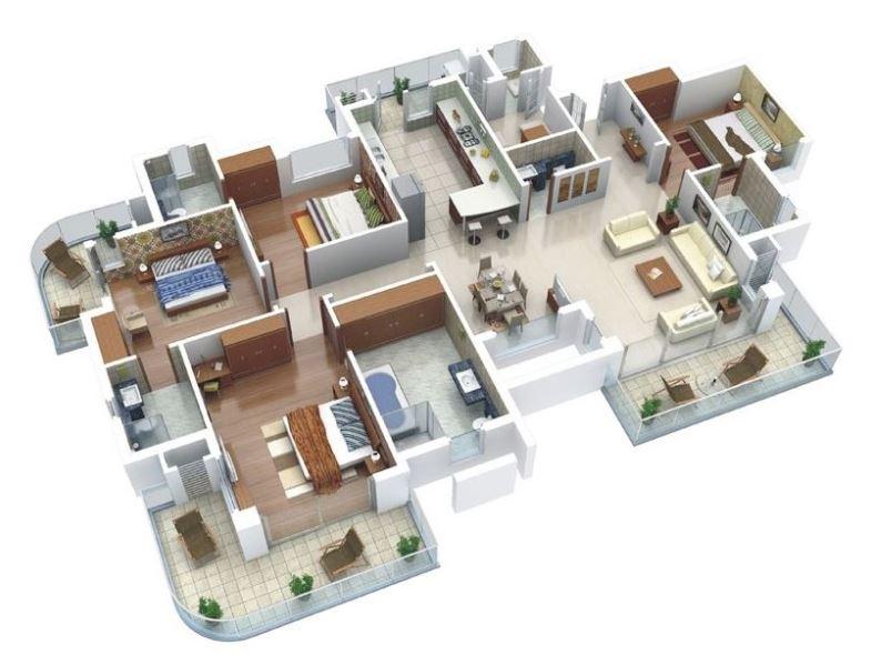 planos-de-departamentos-flat