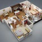 Planos de casas medianas