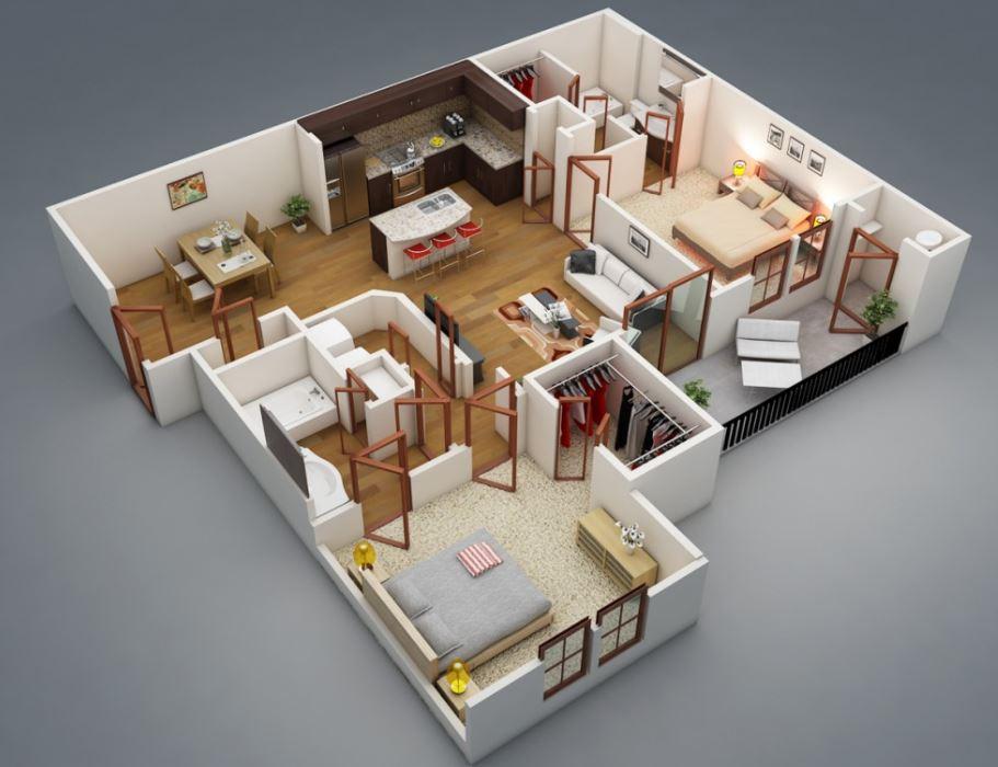 planos-de-casas-medianas-de-lujo