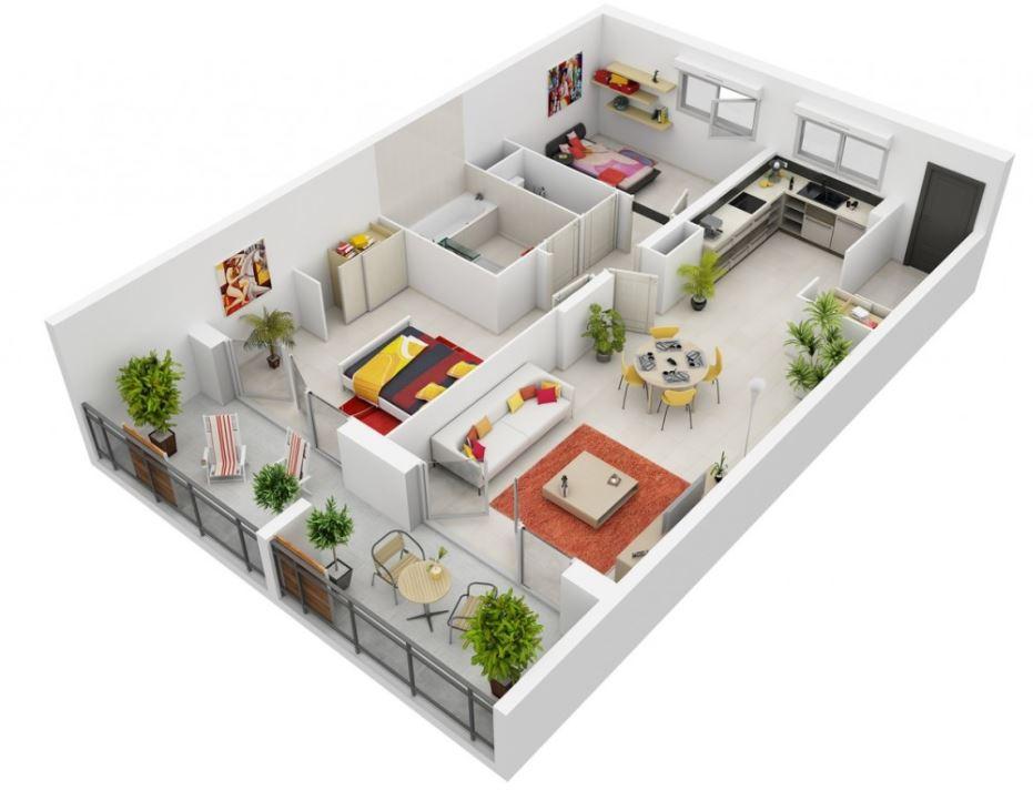 planos-de-casas-medianas-de-un-piso