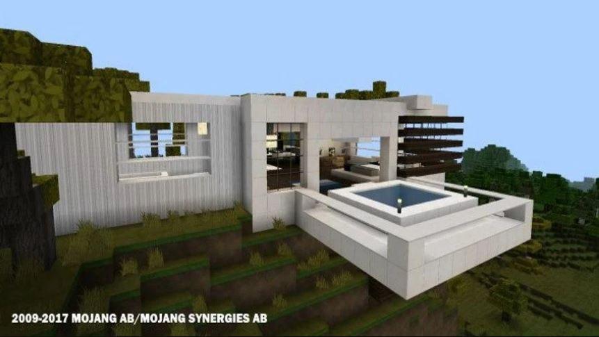 App para hacer casas modernas en minecraft for Construir casas modernas