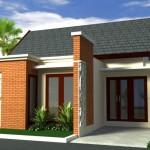 Modelos de fachadas de casas de 60m2
