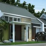 Fachadas casas pequeñas de urbanización