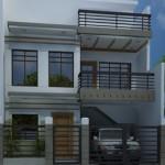 Modelos de casas de dos pisos modernas