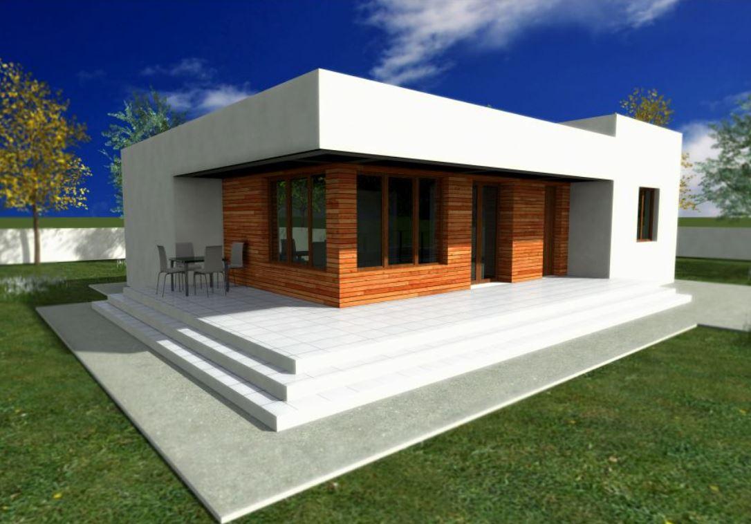 Planos de casas planos de casas con todo tipo de for Casa minimalista 2 dormitorios
