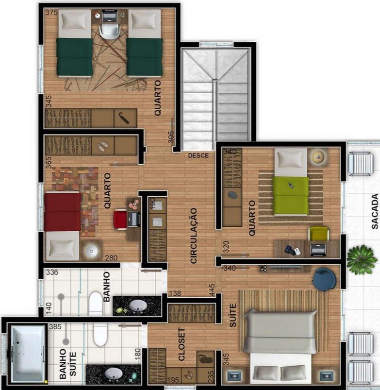 planos-de-apartamentos-con-medidas