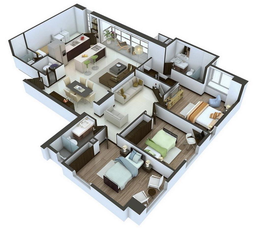 planos-de-departamentos-de-120-metros-cuadrados
