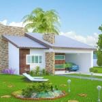 Modelos de casas de Brasil con sus respectivos planos