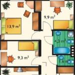 Cuanto debe medir un pasadizo en una casa