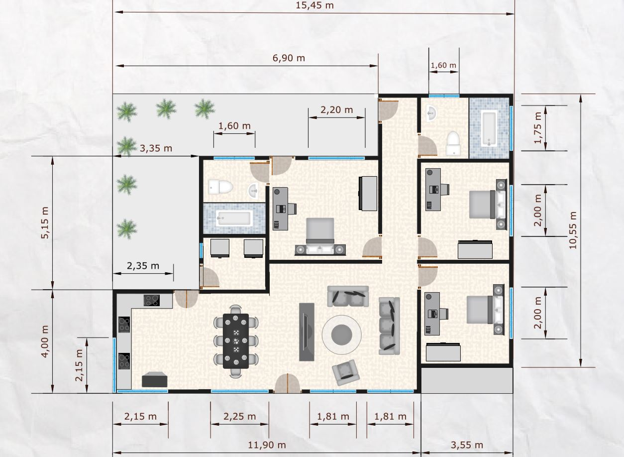 plano-de-casa-de-3-dormitorios