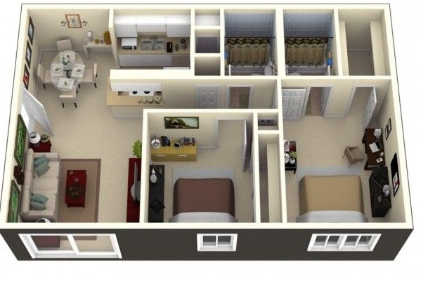 Matematic geometr a y arte for Distribucion piso 70 metros